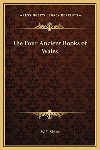 9781169363533: The Four Ancient Books of Wales