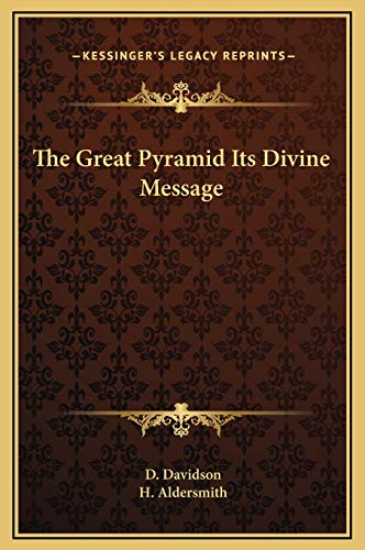9781169367821: The Great Pyramid Its Divine Message