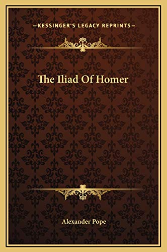 9781169368279: The Iliad Of Homer