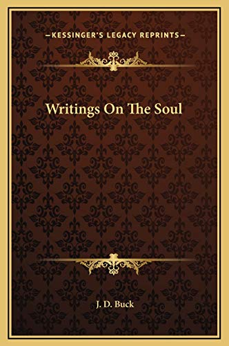 9781169369061: Writings On The Soul