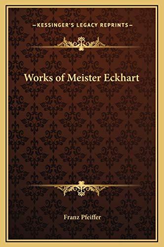 Works of Meister Eckhart