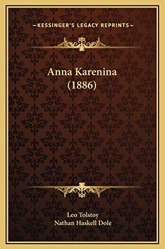 9781169375703: Anna Karenina (1886)