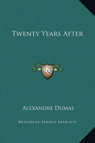 9781169378155: Twenty Years After