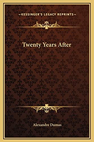 9781169378155: Twenty Years After