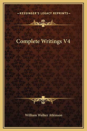 9781169378803: Complete Writings V4