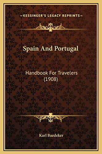 9781169378919: Spain And Portugal: Handbook For Travelers (1908)