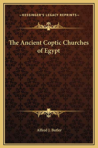 9781169378995: The Ancient Coptic Churches of Egypt