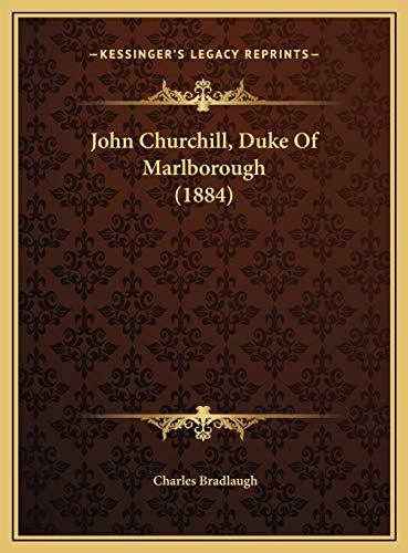 9781169391451: John Churchill, Duke of Marlborough (1884)