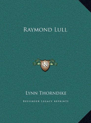 9781169400641: Raymond Lull