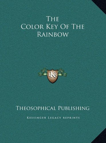 9781169400818: The Color Key Of The Rainbow