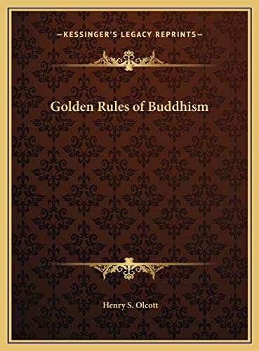 9781169432178: Golden Rules of Buddhism