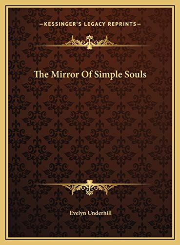 9781169452930: The Mirror Of Simple Souls