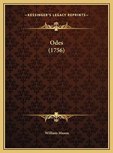 9781169531239: Odes (1756)