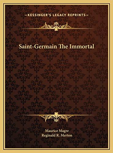9781169634510: Saint-Germain The Immortal