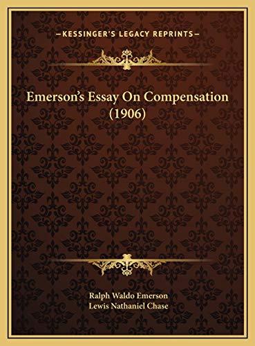 9781169640993: Emerson's Essay On Compensation (1906)