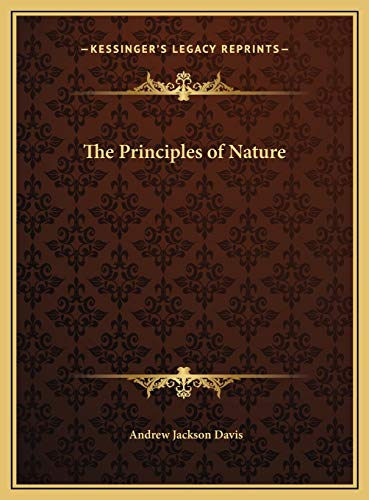 9781169662483: The Principles of Nature