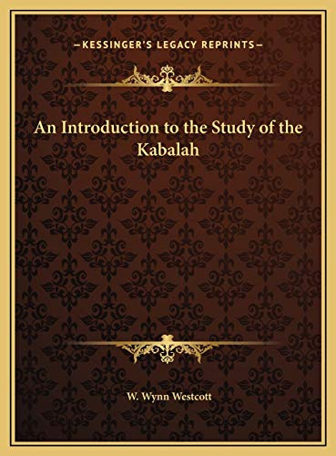 9781169682863: An Introduction to the Study of the Kabalah