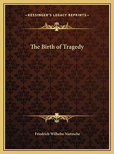 9781169684362: The Birth of Tragedy