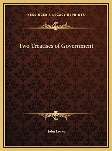 9781169685482: Two Treatises of Government