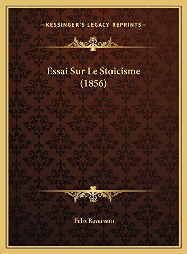 9781169692718: Essai Sur Le Stoicisme (1856)