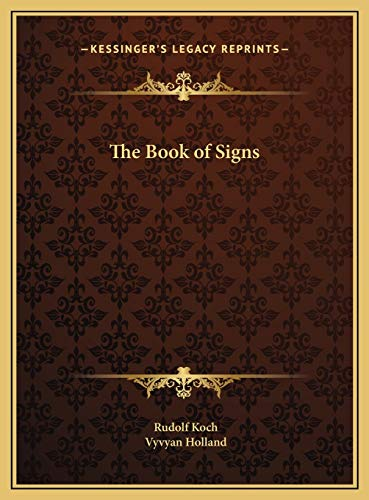 9781169697287: The Book of Signs