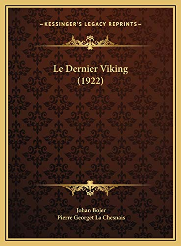 9781169697713: Le Dernier Viking (1922)