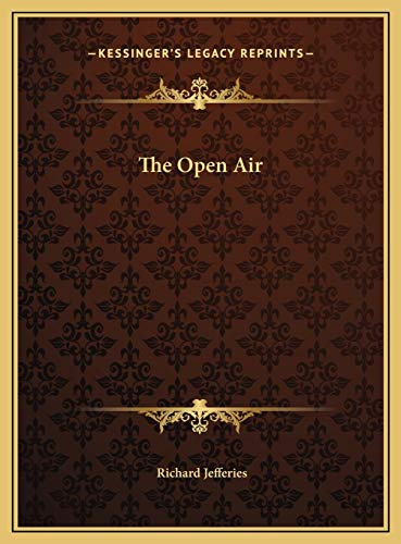9781169698017: The Open Air