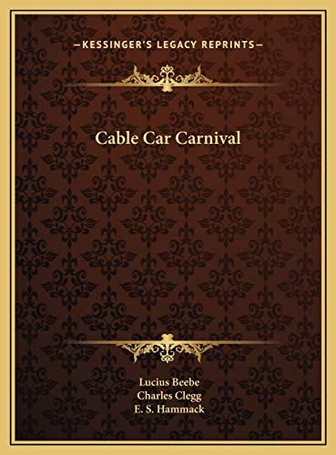 9781169698420: Cable Car Carnival