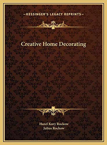 9781169698451: Creative Home Decorating