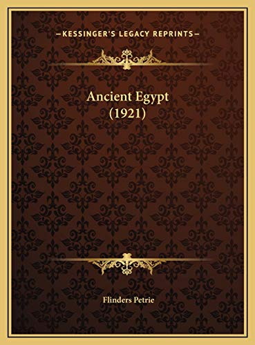9781169704367: Ancient Egypt (1921)