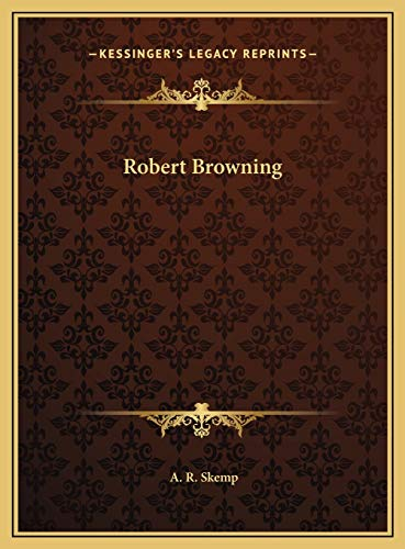 9781169705494: Robert Browning