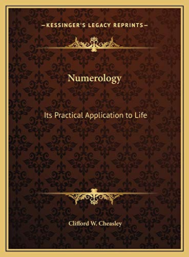 9781169706446: Numerology: Its Practical Application to Life