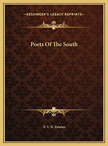 9781169708143: Poets Of The South