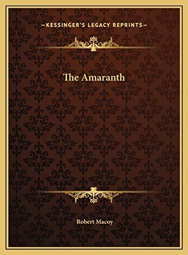 9781169711723: The Amaranth