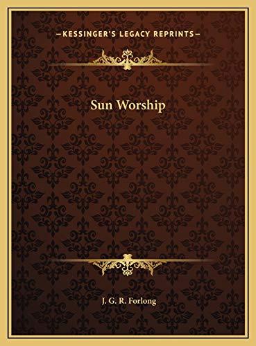 9781169711792: Sun Worship