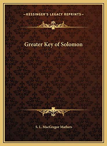9781169715448: Greater Key of Solomon