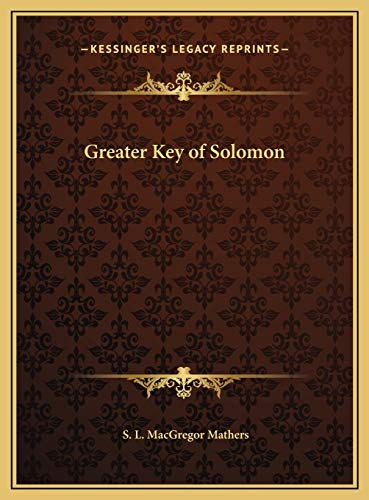 9781169715448: Greater Key of Solomon