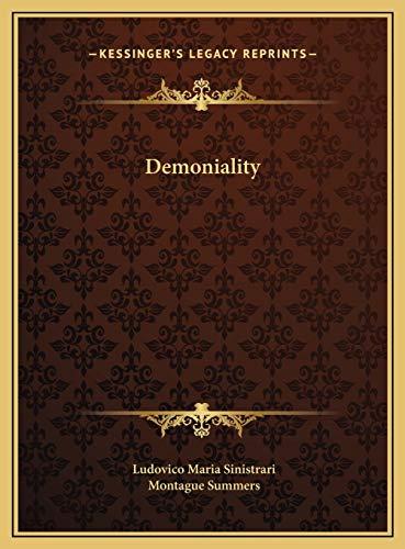 9781169723580: Demoniality