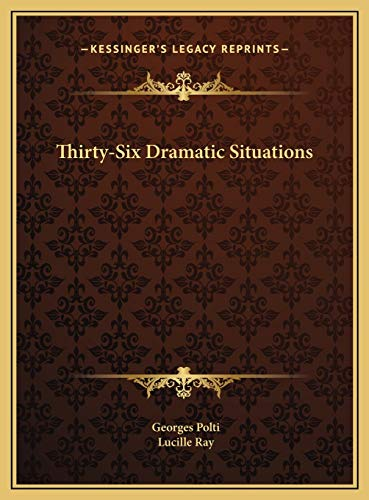 9781169726192: Thirty-Six Dramatic Situations