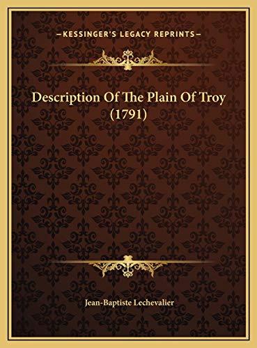 9781169728233: Description Of The Plain Of Troy (1791)
