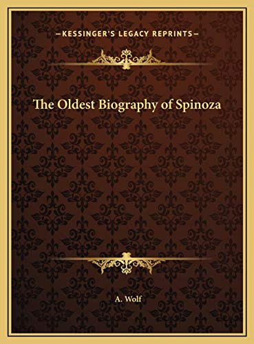 9781169734227: The Oldest Biography of Spinoza