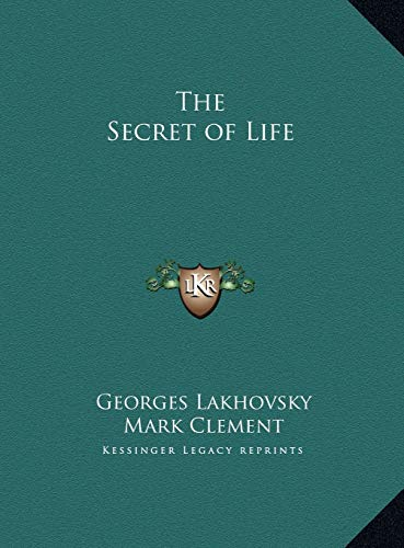 9781169735408: The Secret of Life