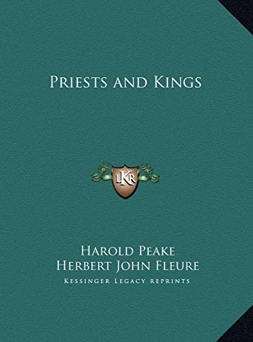 9781169735415: Priests and Kings