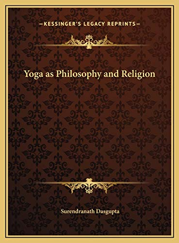 9781169736092: Yoga as Philosophy and Religion