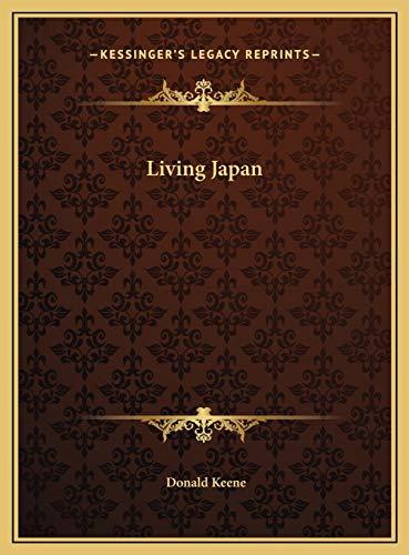 9781169741362: Living Japan