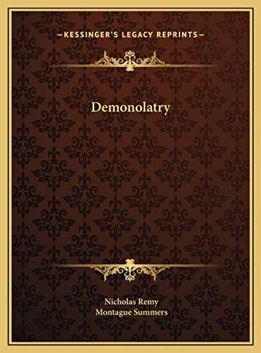 9781169742413: Demonolatry Demonolatry
