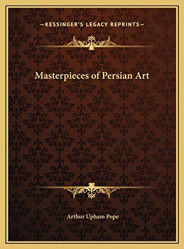 9781169742550: Masterpieces of Persian Art
