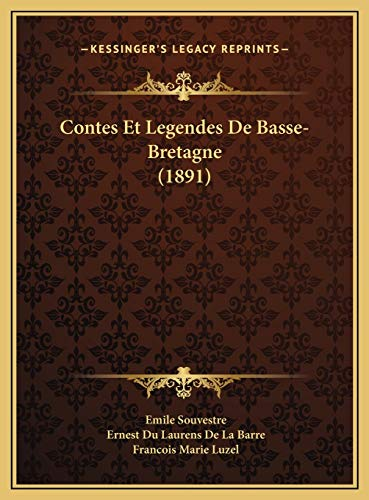 9781169744059: Contes Et Legendes de Basse-Bretagne (1891)