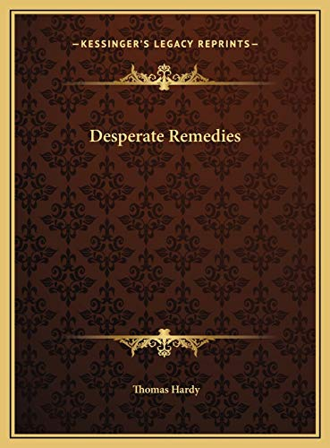 9781169744820: Desperate Remedies