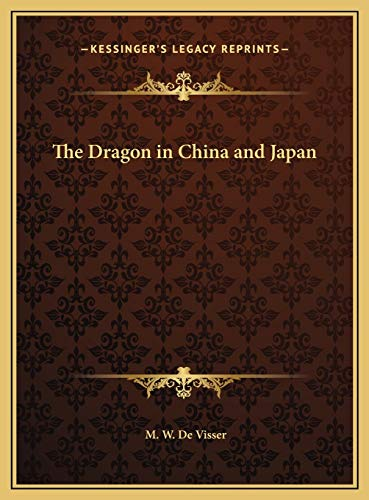 9781169748699: The Dragon in China and Japan